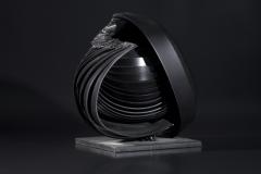 Magocska (21x19,5x15 cm, hegesztett acel, 2013)